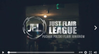 relacja wideo just flaire league